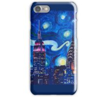 Starry Night in New York - Van Gogh inspired iPhone Case/Skin