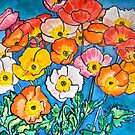 Californian Poppies in Glorious Colour by Alexandra Felgate