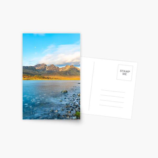 Morning - Loch Slapin and Bla Bheinn Postcard