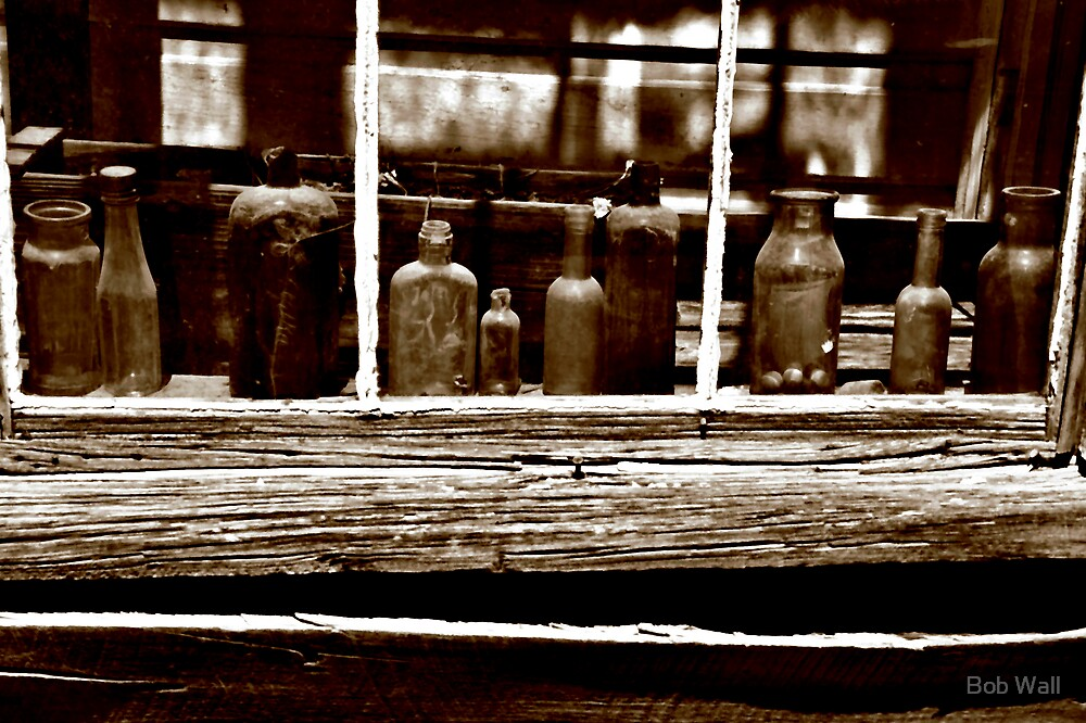 Bodie Bottles by Bob Wall