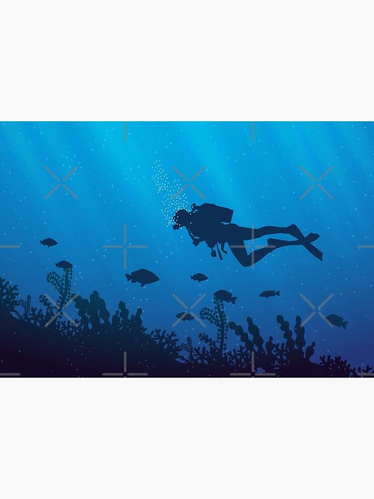 Scuba Diving Pattern by EddieBalevo