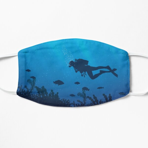 Scuba Diving Pattern Mask
