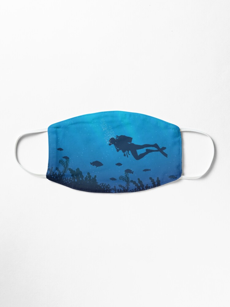 Alternate view of Scuba Diving Pattern Mask