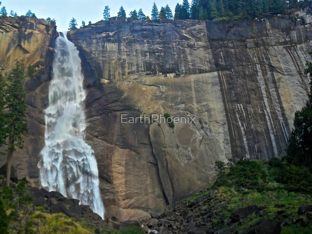 Nevada Falls- Yosemite by EarthPhoenix
