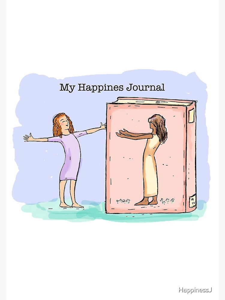 Happiness Journal Book Friend by HappinessJ
