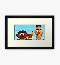The Banana Gag Framed Print