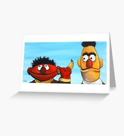 The Banana Gag Greeting Card