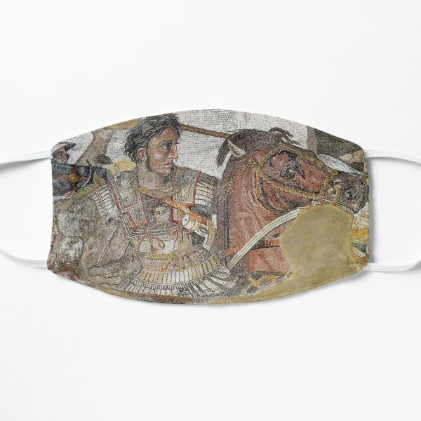 Alexander the Great mosaic Mask