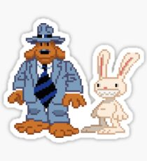 Sam & Max #02 Sticker