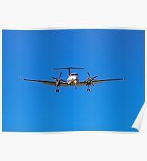 Beechcraft Super King Air 350 Poster