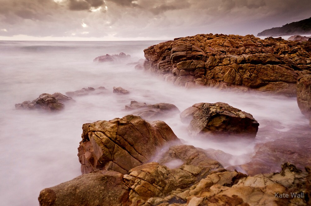 Red Rocks at Coolum by Kate Wall