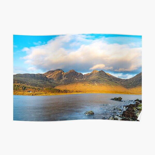Morning - Bla Bheinn and Loch Slapin Poster