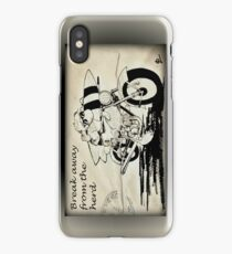 Flock off! iPhone Case