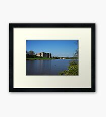 Carew Castle & Tidal Mill Framed Print