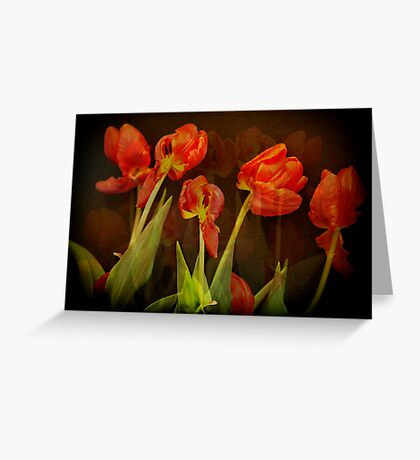 These memories past... Greeting Card