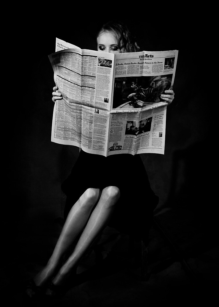 The Newspaper by Lightflowphoto