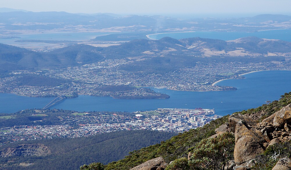 Mount Wellington, Tasmania by Traffordphotos