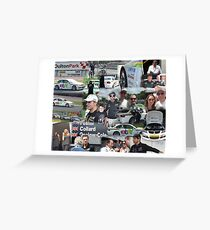 eBay Motors British Touring Cars team at Oulton Park Greeting Card