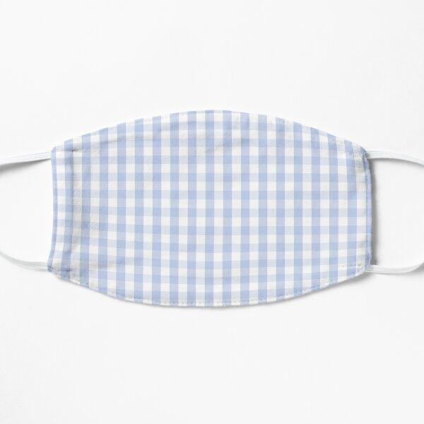 Alice Blue Mini Gingham Check Plaid Mask