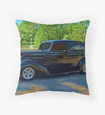 1937 Ford Sedan Delivery Truck Throw Pillow