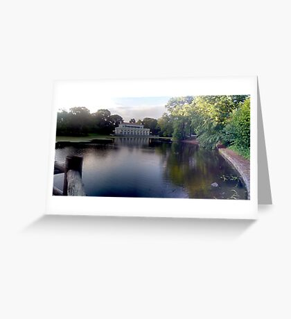Prospect Park Boathouse Greeting Card