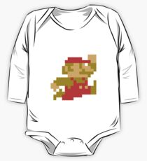 Super Mario #01 One Piece - Long Sleeve