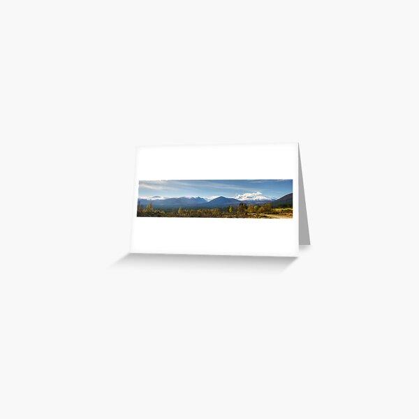 Walks In The Cairngorms...Lairig Ghru Greeting Card
