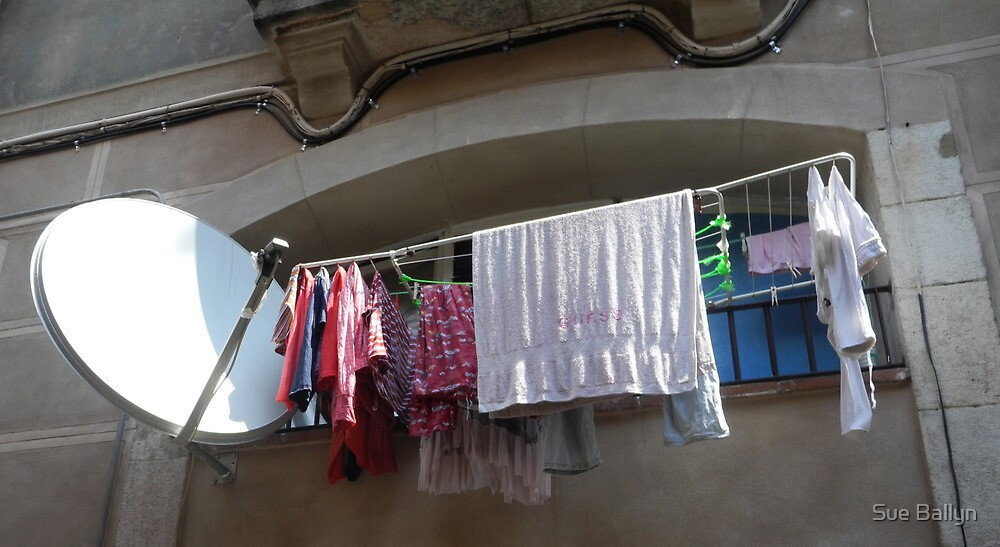 Raval Balcony by Sue Ballyn