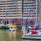Jubilee River Pageant Barge by Thasan