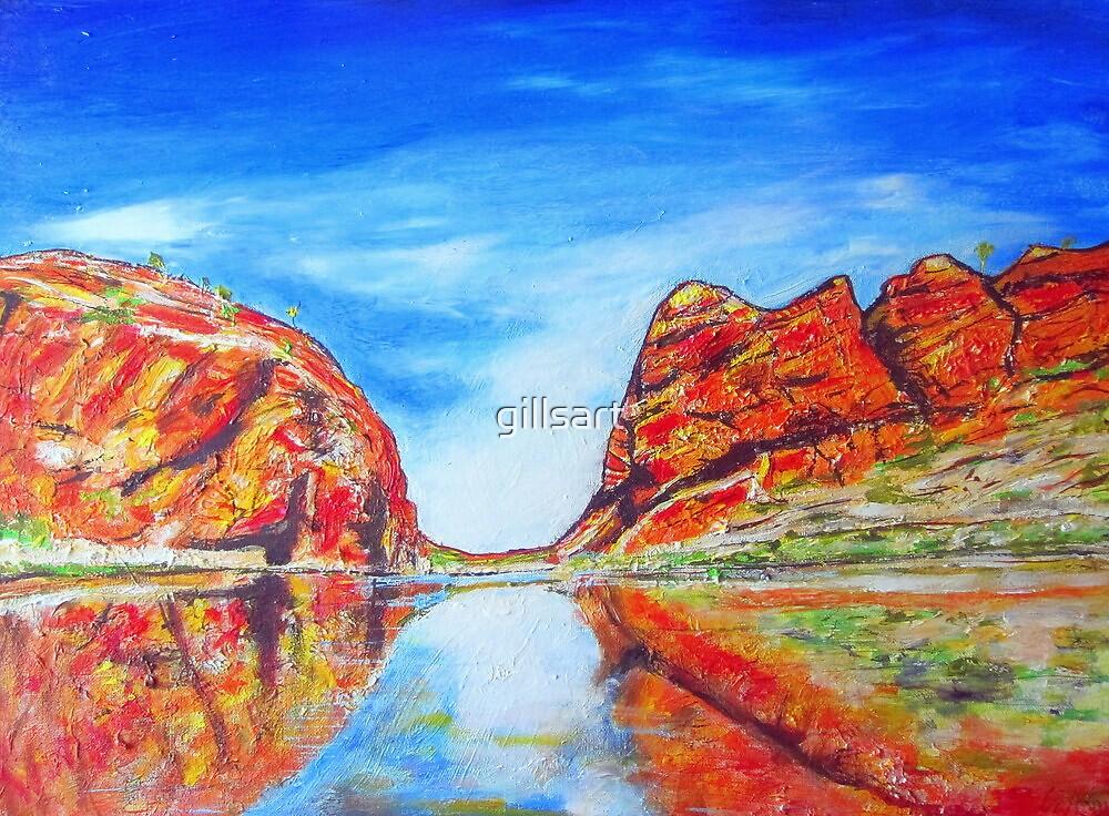 Glen Helen Gorge N.T. by gillsart