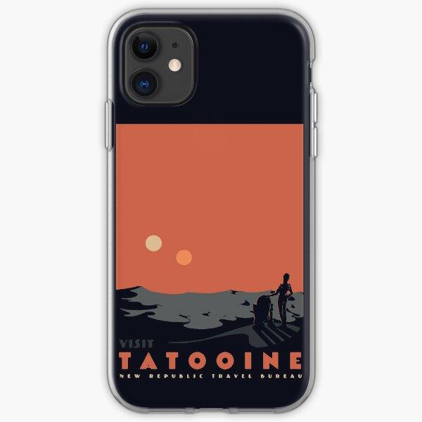 Visit Tatooine iPhone Soft Case