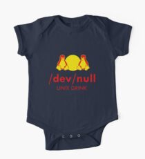 Dev null One Piece - Short Sleeve