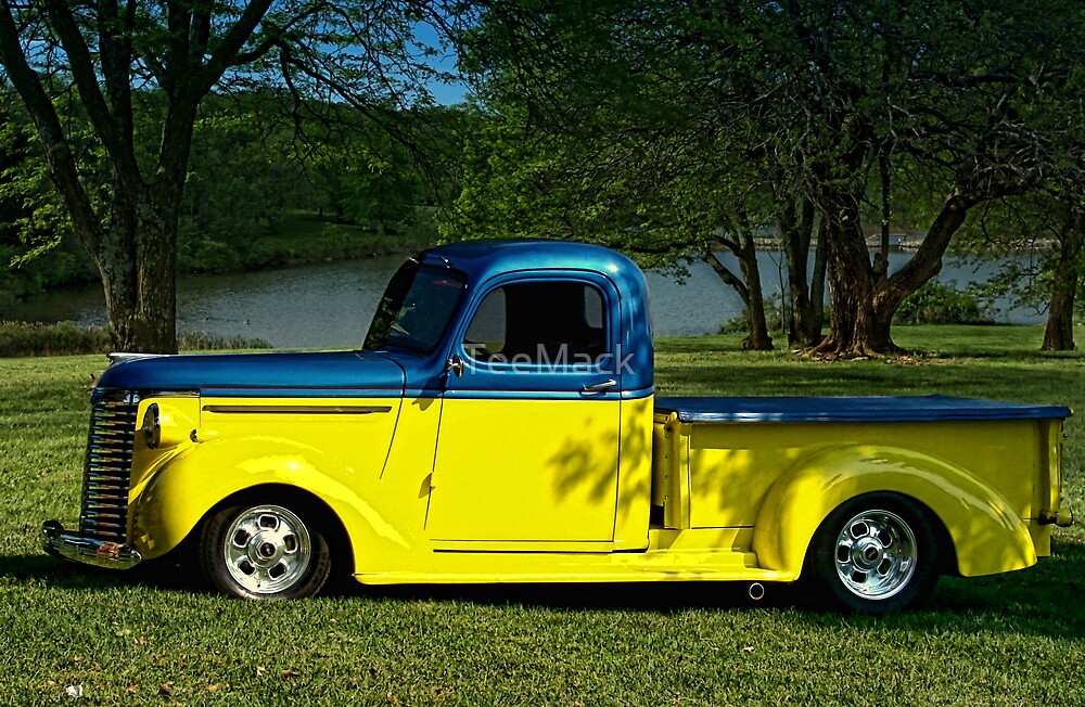 1940 Chevrolet Pickup Truck Hot Rod by TeeMack