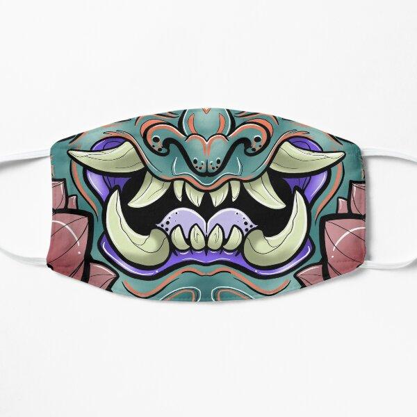 Oni Face Flat Mask