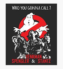 Who you gonna call ? Photographic Print