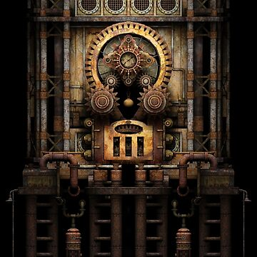 Infernal Steampunk Vintage Machine #3 by SC001
