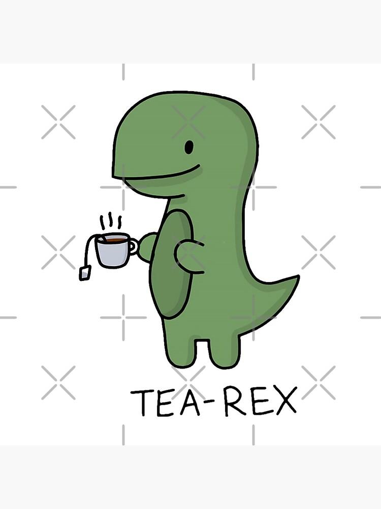 Tea-Rex (Green) by Luna7