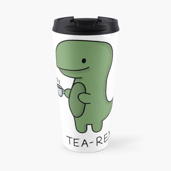Tea-Rex (Green) Travel Mug