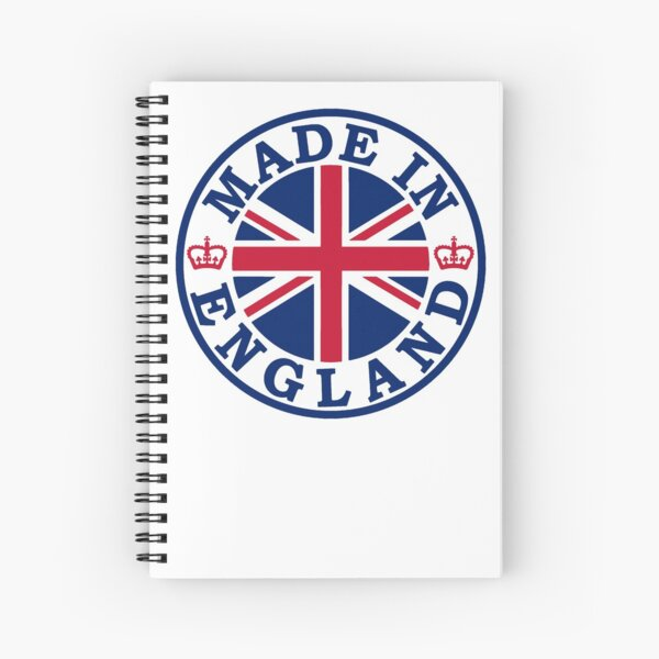 Made In England Spiral Notebook