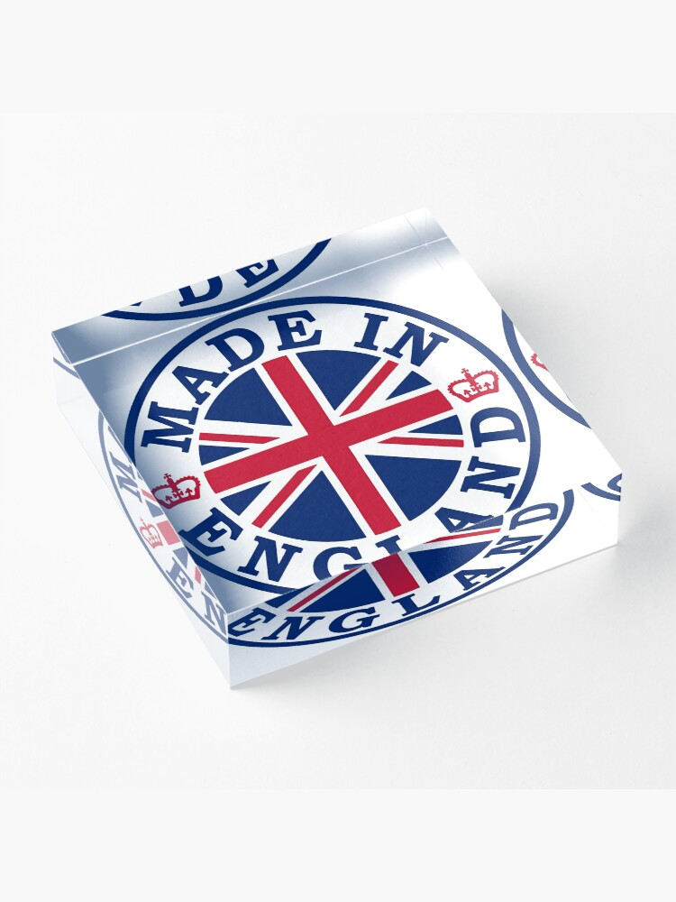 Alternate view of Made In England Acrylic Block