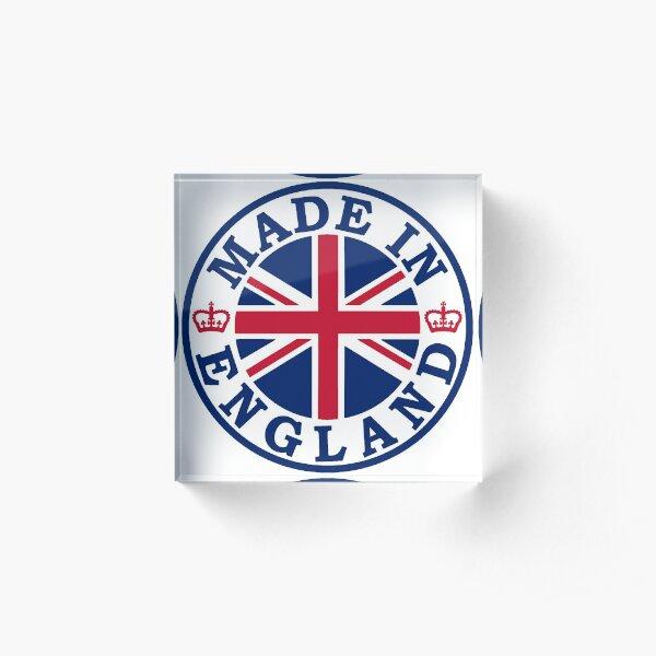 Made In England Acrylic Block