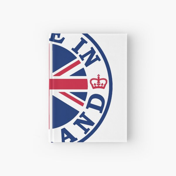 Made In England Hardcover Journal