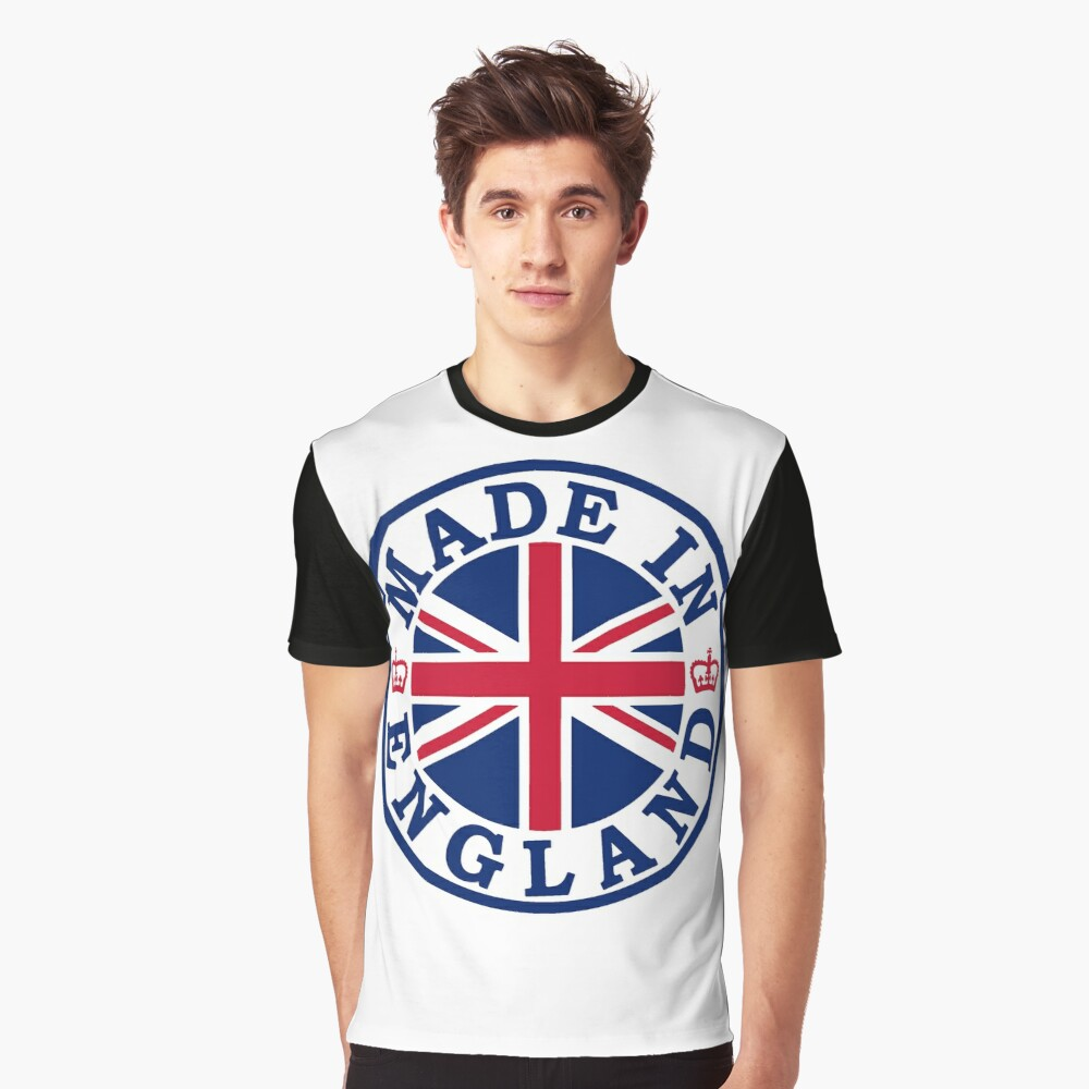 Made In England Graphic T-Shirt