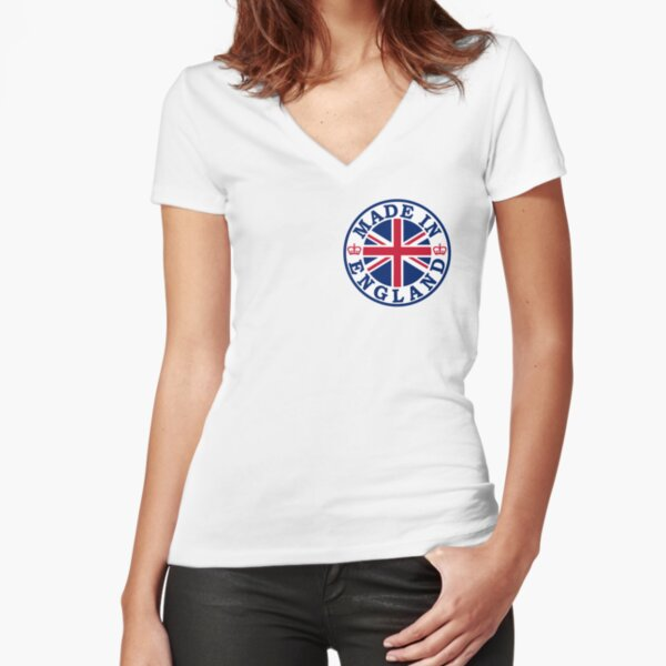 Made In England Fitted V-Neck T-Shirt