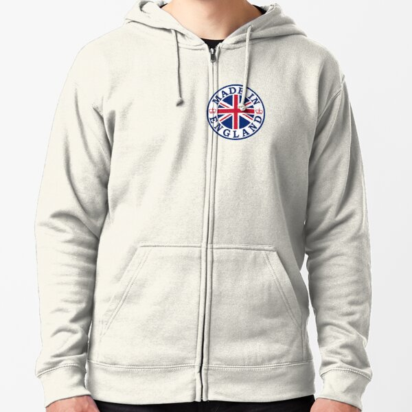 Made In England Zipped Hoodie