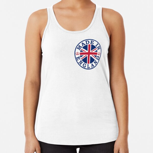 Made In England Racerback Tank Top