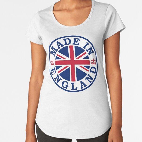 Made In England Premium Scoop T-Shirt