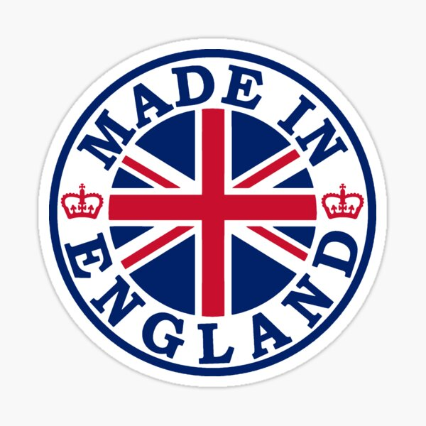 Made In England Sticker