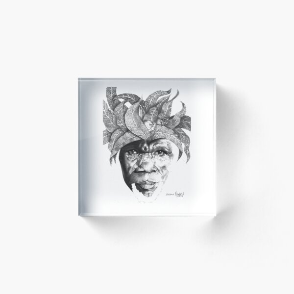 The Original Sunman - By Siphiwe Ngwenya Acrylic Block
