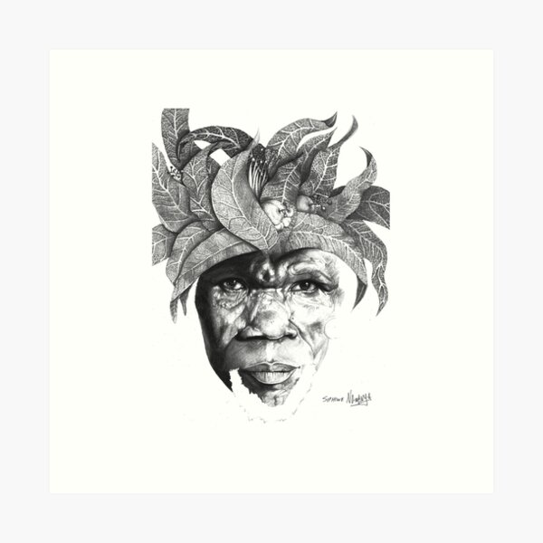 The Original Sunman - By Siphiwe Ngwenya Art Print